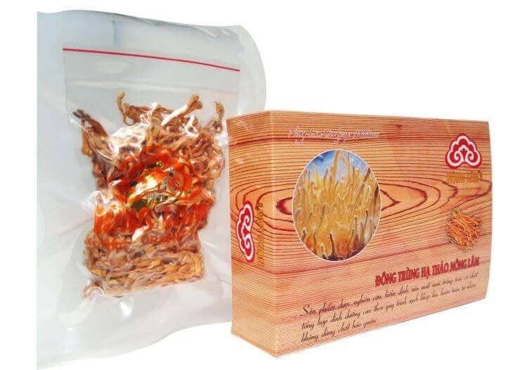 Mua đông trùng hạ thảo ở TPHCM của thương hiệu Linh Chi Nông Lâm