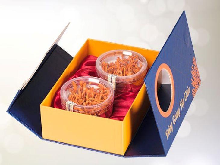 Bao bì sản phẩm trùng thảo của thương hiệu Trường Sinh
