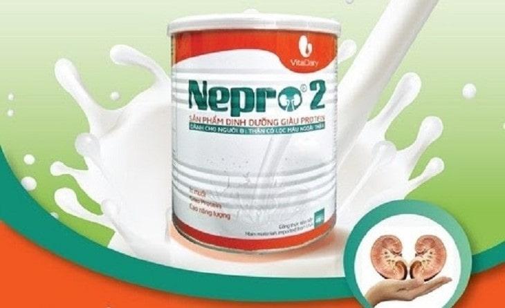 Sữa Nepro 2 dinh dưỡng cho người bệnh thận
