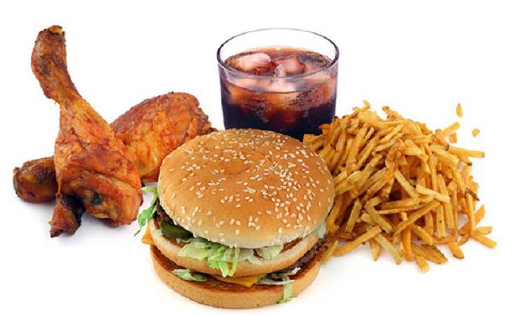 Đồ ăn nhiều dầu mỡ không tốt cho sức khỏe