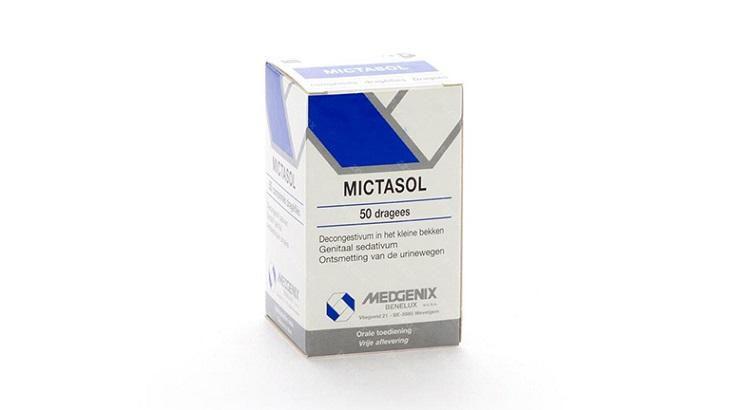 Thuốc chữa viêm đường tiết niệu mãn tính Mictasol Bleu là có giá thành phải chăng