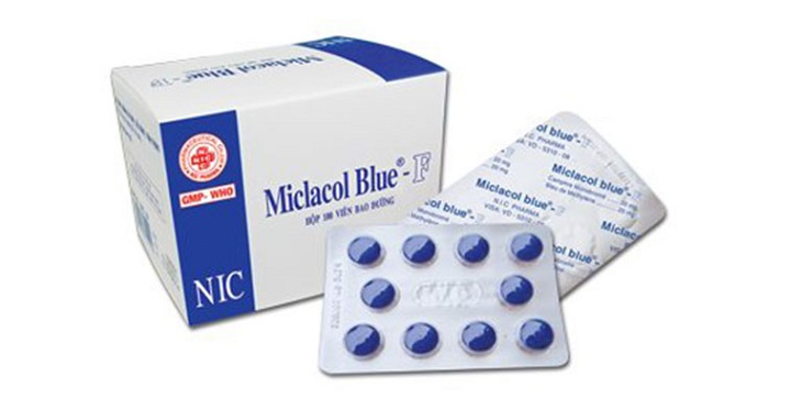 Thuốc Miclacol Blue - F dùng điều trị các vấn đề vùng tiết niệu