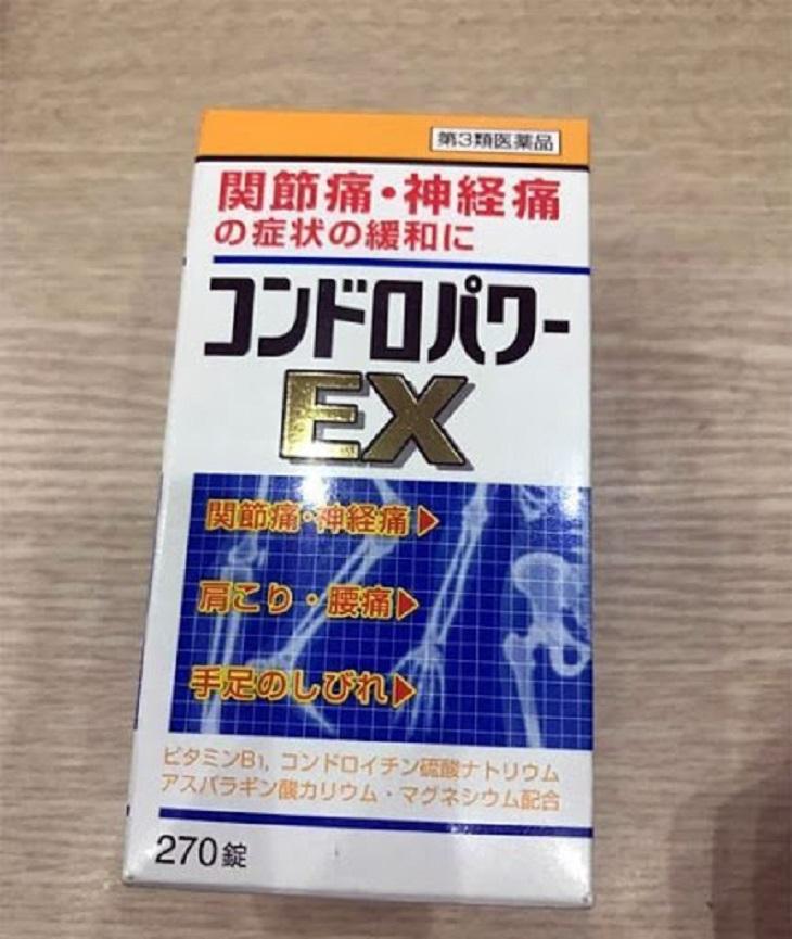 Sản phẩm trị đau xương khớp của Nhật Kondoropawa EX