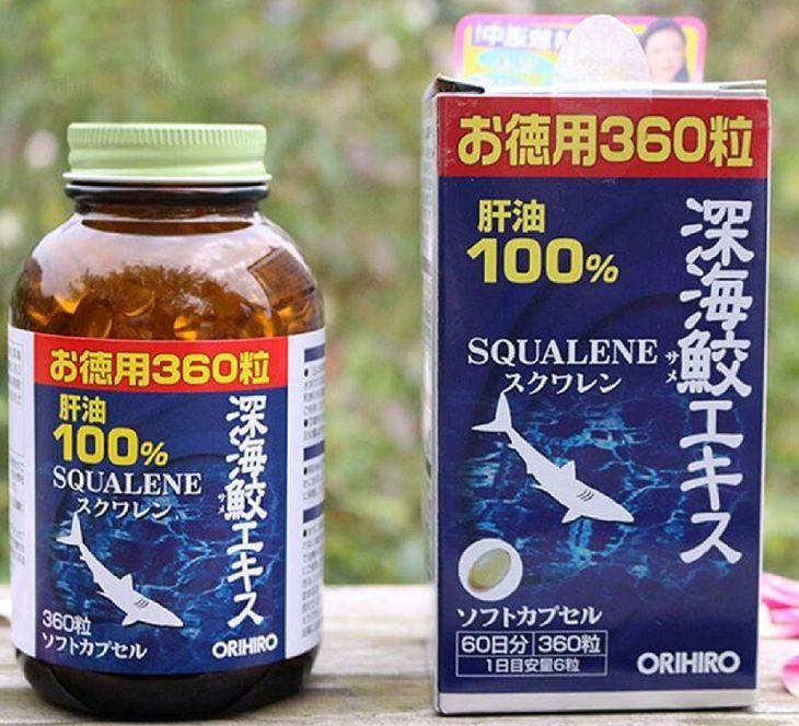 Viên uống Orihiro Squalene của Nhật hỗ trợ cải thiện các bệnh xương khớp