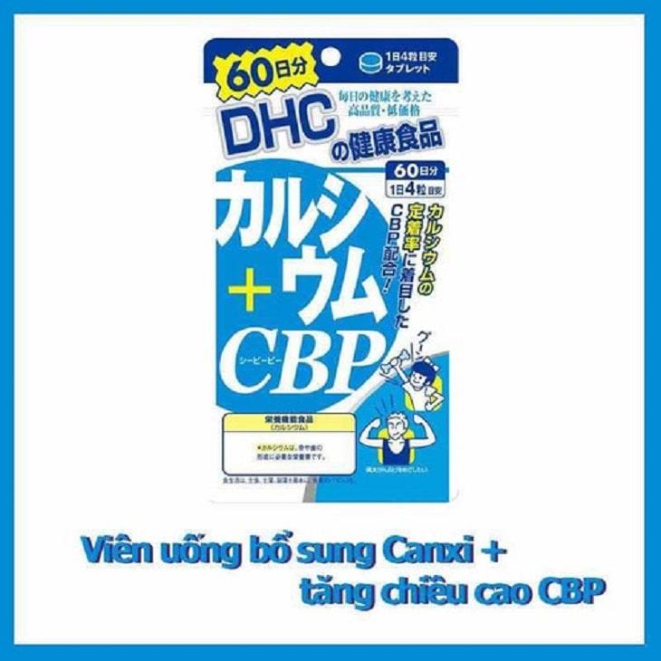 Viên uống DHC bổ sung canxi và CBD