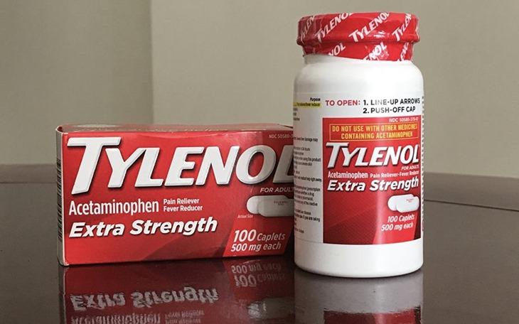 Thuốc dòng Paracetamol (Acetaminophen) được sử dụng tương đối nhiều