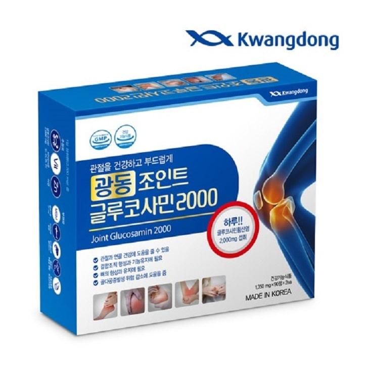 VIên uống trị đau xương khớp Hàn Quốc 2000 – Glucosamine 2000