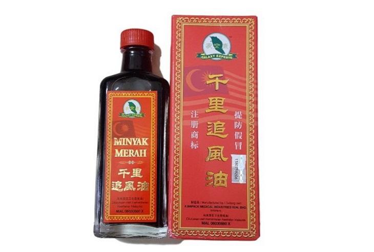 Minyak Merah – Thuốc đau xương khớp của Malaysia