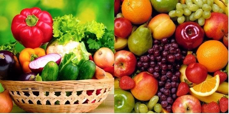 Viêm đường tiết niệu nên ăn gì? - Trái cây và nhiều loại rau xanh là rất cần thiết