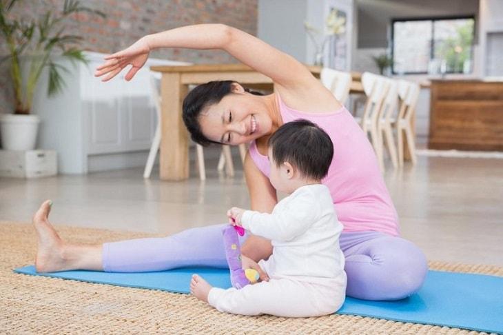 Hồi phục sức khỏe sau sinh