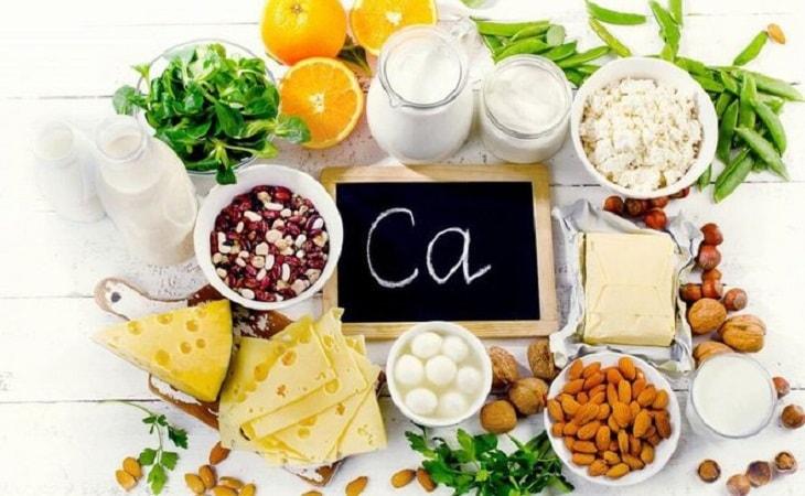 Một số thực phẩm giàu canxi tốt cho người bị viêm khớp háng