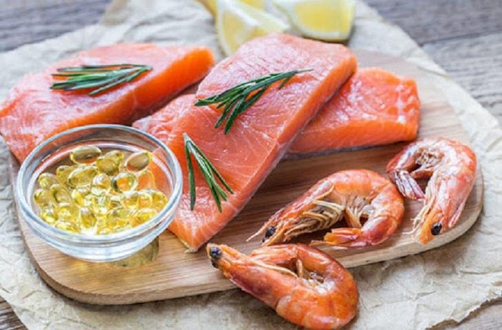 Trong thịt cá hồi chứa rất nhiều omega 3