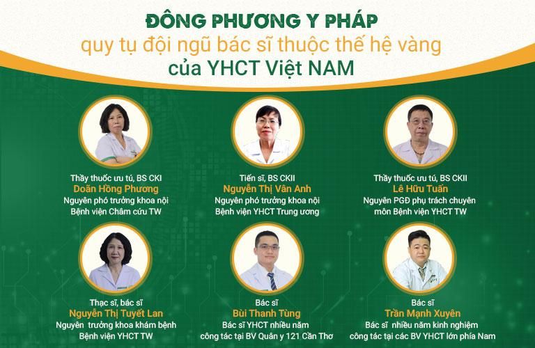 Đội ngũ Y bác sĩ tại Đông phương Y pháp