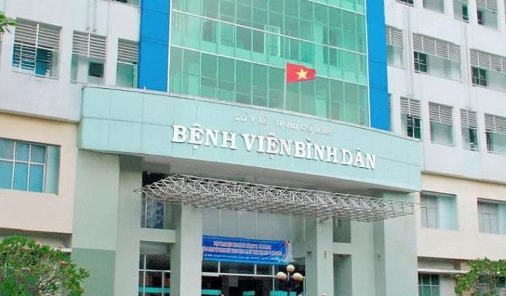 Bệnh viện Bình Dân là một trong các cơ sở tiến hành tán sỏi thận lâu đời