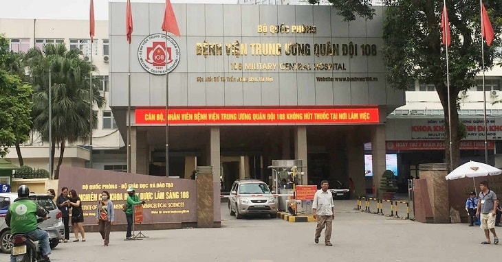 Bệnh viện Trung ương Quân đội 108 có cơ sở vật chất hiện đại