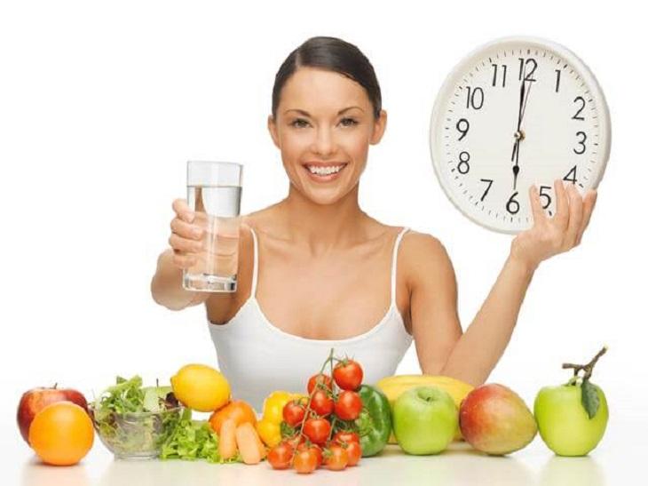 Người bệnh cần duy trì thói quen và chế độ ăn lành mạnh để nhanh hồi phục sức khỏe