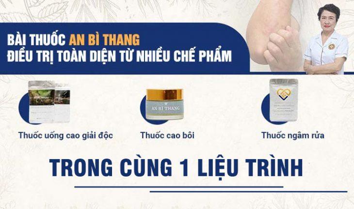 3 chế phẩm nhỏ được kết hợp trong bài thuốc An Bì Thang