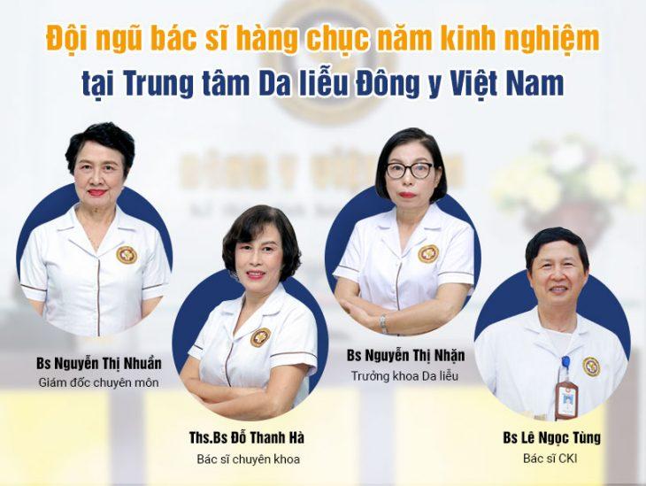 Trung tâm Da liễu Đông y Việt Nam hội tụ nhiều chuyên gia có Tâm - Tầm - Tài