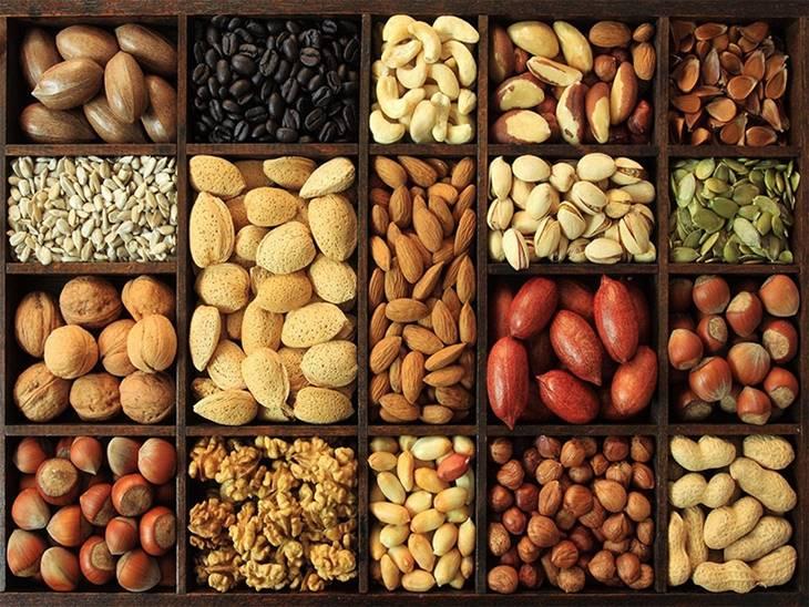 Tăng cường ngũ cốc và các loại hạt trong thời gian trị bệnh