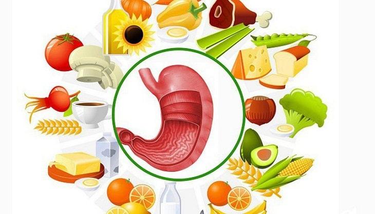Chế độ ăn uống là nguyên nhân gây nên biến chứng bệnh dạ dày