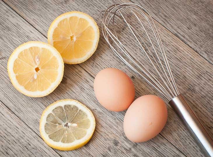 Chữa đau dạ dày bằng trứng gà và chanh