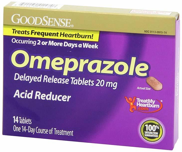 Omeprazole là thuốc thuộc nhóm thuốc ức chế bơm proton thường dùng kết hợp với các thuốc dạ dày khác để điều trị dứt điểm bệnh này