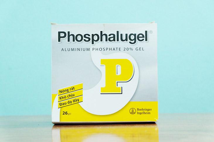 Phosphalugel chính là thuốc dạ dày chữ P thuộc nhóm kháng acid