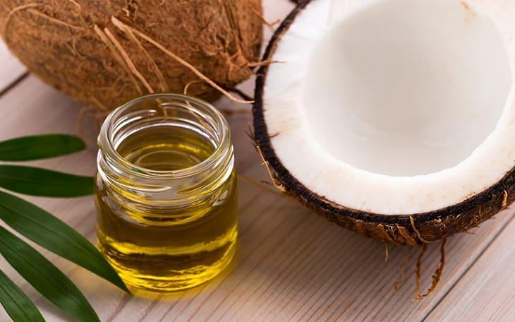 Giảm triệu chứng bệnh chàm bằng dầu dừa