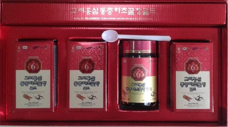 Cao đông trùng hạ thảo hồng sâm Hàn Quốc được rất nhiều người tin dùng