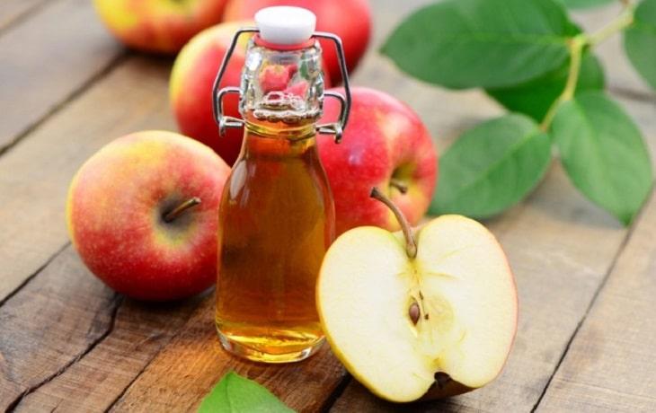 Giấm táo là một dạng ancol, có khả năng tách chiết hoạt chất từ xương rồng
