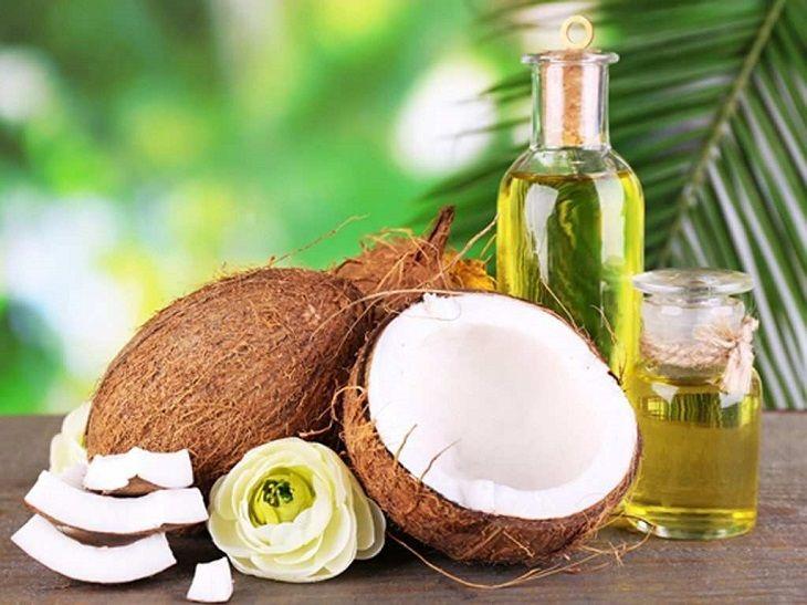 Dầu dừa có công dụng rất tốt cho hệ tiêu hóa, giúp giảm đau, kháng viêm hiệu quả