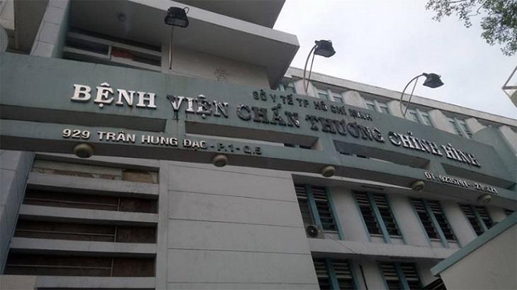 Bệnh viện chấn thương chỉnh hình TP. Hồ Chí Minh có trang thiết bị rất hiện đại