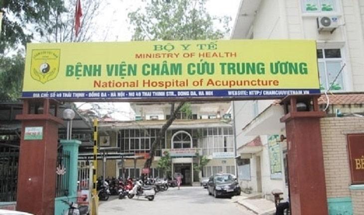 Bệnh viện châm cứu trung ương kết hợp Đông - Tây y trong điều trị