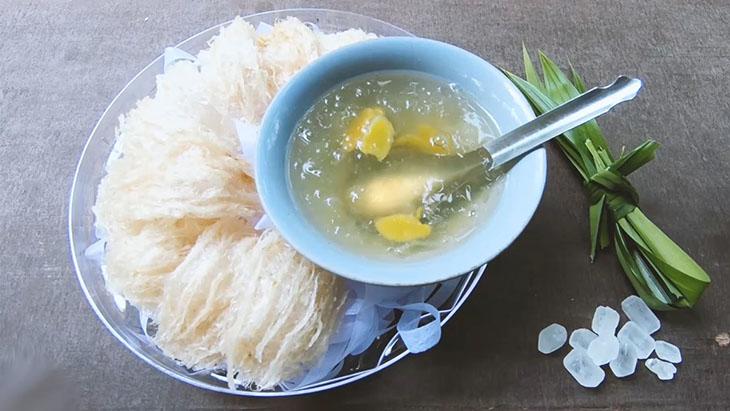 Món tổ yến chưng đường phèn đơn giản mà tốt cho dạ dày