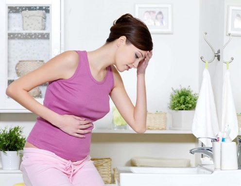 đau dạ dày khi mang thai
