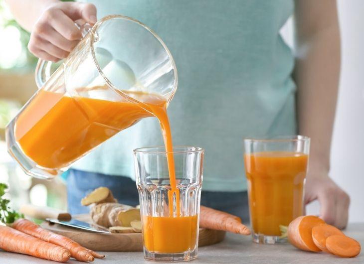 Nước ép cà rốt rất tốt cho người bị đau dạ dày