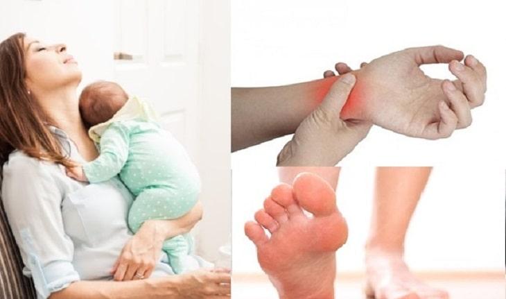 Các tư thế sinh hoạt hàng ngày không đúng cách khiến mẹ mắc bệnh