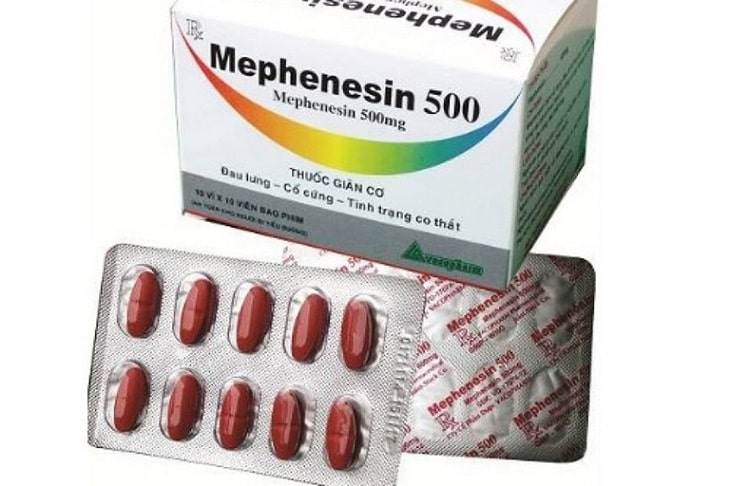Thuốc Mephenesin thuốc nhóm giãn cơ hiệu quả điều trị tốt
