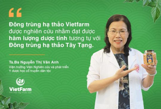"""Chuyên gia đánh giá cao ĐTHT Vietfarm trong Hội thảo khoa học """"Đánh giá công nghệ và chất lượng nuôi cấy đông trùng hạ thảo tại Việt Nam"""""""