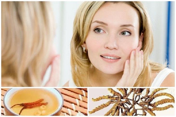 Kem đông trùng hạ thảo giúp trị nám, tàn nhang và mụn hiệu quả