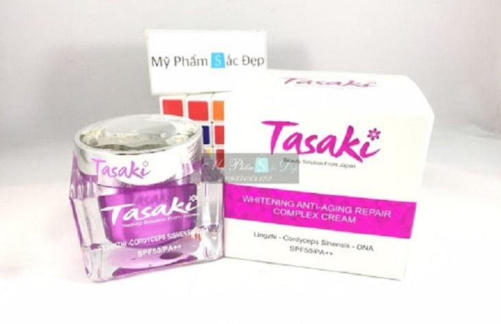 Kem dưỡng da linh chi đông trùng hạ thảo Tasaki được thị trường hiện nay ưa chuộng