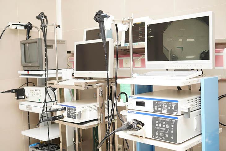 Máy nội soi dạ dày được dùng nhiều trong chẩn đoán bệnh