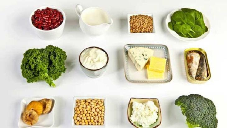 Ăn nhiều thực phẩm giàu canxi giúp hạn chế tái phát sỏi thận sau phẫu thuật