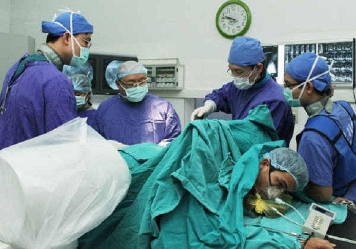 Biện pháp mổ nội soi được áp dụng tại bệnh viện 108
