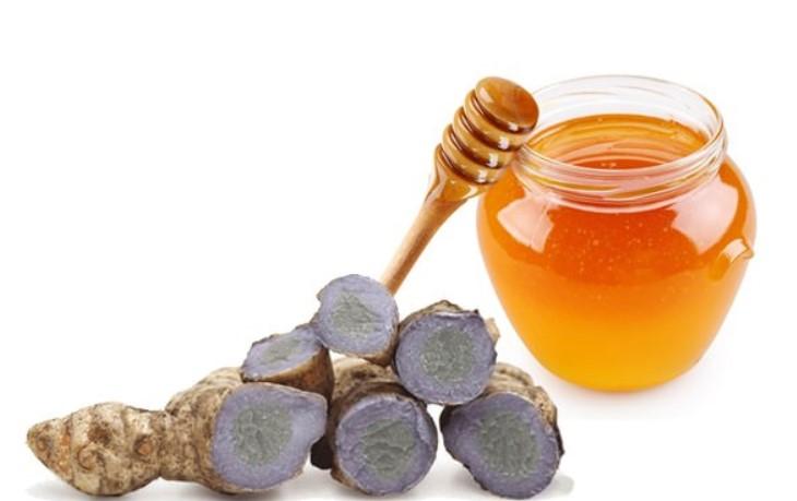 Nghệ đen chữa đau dạ dày kết hợp với mật ong đem đến hiệu quả tích cực