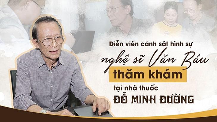 Nghệ sĩ Văn Báu chữa thoát vị đĩa đệm tại Đỗ Minh Đường