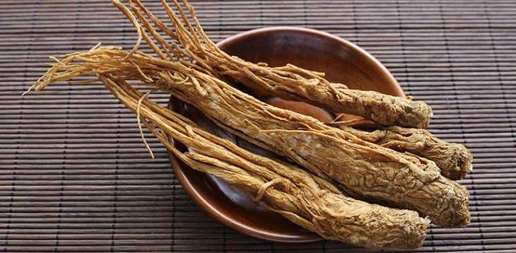Đương quy thường được dùng trong bài thuốc Đông y chữa bệnh mề đay