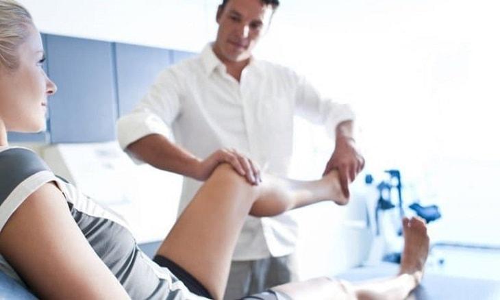 Bệnh nhân nên bắt đầu tập luyện sau một tháng nghỉ ngơi hoàn toàn