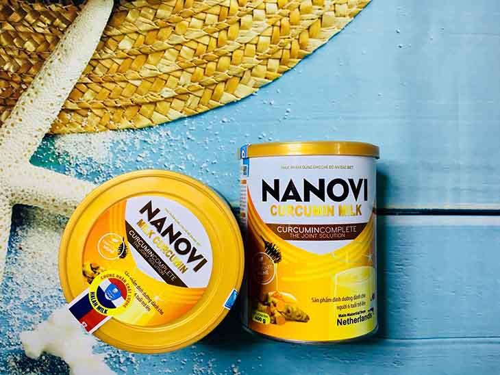 Nanovi Curumin Milk tốt cho dạ dày