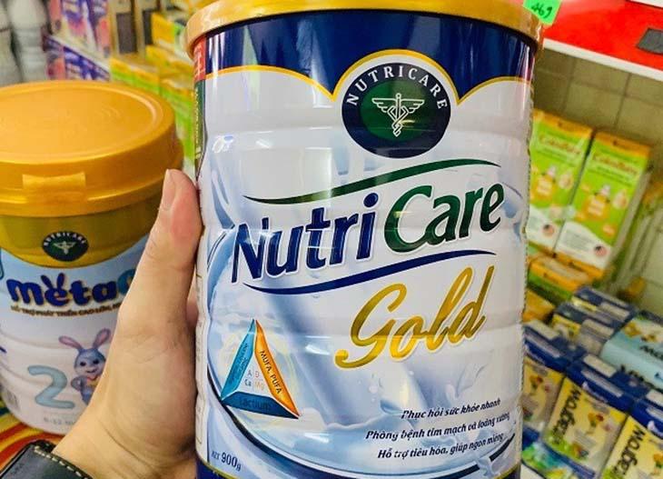 Sữa cho người bị dạ dày Nutricare Gold nổi tiếng